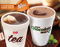 New Hot Beverages | Dunkin' Donuts