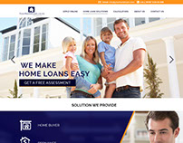 Yourhomelone.co.nz Home page Design