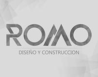 Logo Design For Romo Construction.