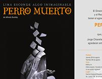 PERRO MUERTO INVITACIÓN DIGITAL