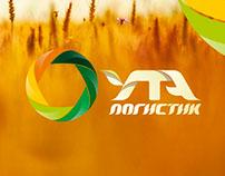 """Логотип и фирменный стиль """"УТА Логистик"""""""