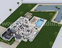 Design a 3D House with creative Ideas