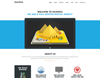 Maximus - One Page Template
