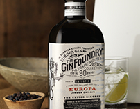 The Gin Foundry Label & Packaging Design