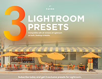 SUBSCRIBE TO ENJOY PRESETS AND TUTORIALS