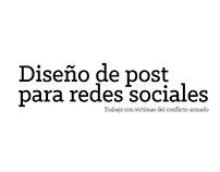 Post design for social networks