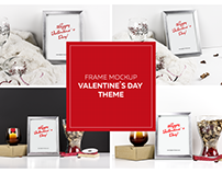 Valentine`s Day VOL.2 Styled Product Mockup