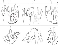 Hand Study (ASL 1-25)
