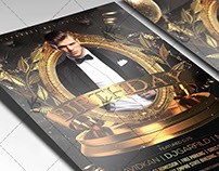 Birthday Night - Premium Flyer PSD Template