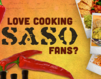 SaSo Sauces: Banner Ads