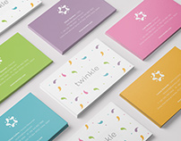 Twinkle - Branding of a clothes shop for kids
