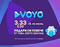 Promoting VOYO's Special Christmas Price