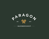 Paragon barbershop identity