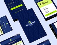 Recycle Karo Mobile App UX /UI Design in AI
