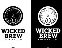 Wicked Brew Coffeehouse Identity