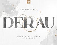 Derau - Free SVG Font