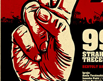 """99% - Fear and Misery of the Third Reich"" Theater play"