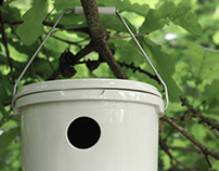 Birdhouse Bucket