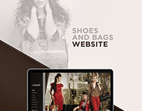 Bags and Shoes Website