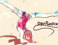 Strip plabstic dancer