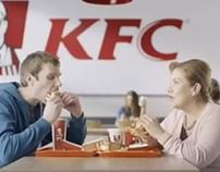 KFC: Sanders burger TVC