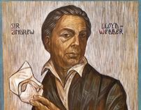 portrait of sir Andrew Lloyd Webber