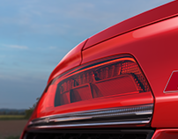 Audi R8 close up