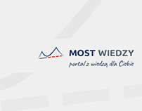 MOST WIEDZY - a landing page
