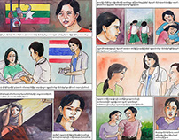 COMIC BOOK: Repro Health Info, Thai/Burma border