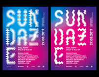 Resonant + Sundaze 2017 – Visual Identity, Poster