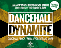 Dancehall Dynamite - Jamaican Independence Day Flyer