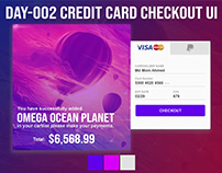Credit card Checkout UI Day-002