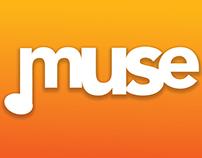 'Muse' | App Interface Design