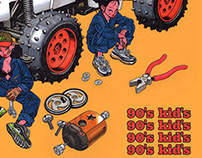 Bazbon 90's kid's exhivition