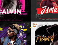 Dj Flyer Bundle