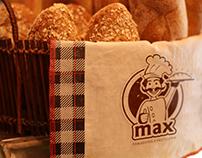 Desarrollo de marca panadería y pastelería MAX