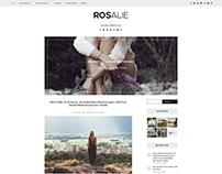 Rosalie- Plantilla de WordPress para blogger Lifestyle