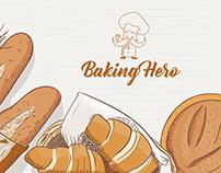Logo Design For Baking Hero