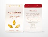Packaging pasta Verrigni