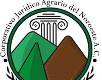 Diseño de Logo: Corporativo Jurídico Agrario del Noroes
