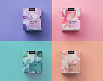 Delicate and Laconic: Eau de Parfum Package Design