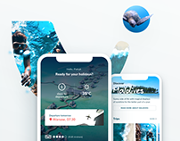 Holiday App Concept