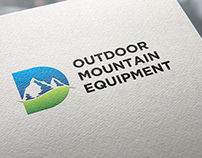 Outdoor Mountain Equipment Logo