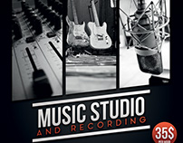 Music Studio Flyer/Poster