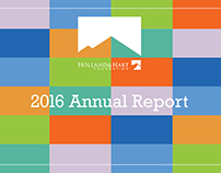 Holland & Hart Foundation 2016 Annual Report