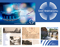 "Logotype & promo materials for ""Eesti Veskivaramu"""