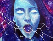 """Krishna"" (Painting)"