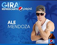 Ale Mendoza - Aftermovie Gira Refrescante Pepsi 2015