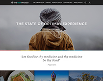 Website design for The 4am mindset