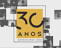30 Anos do CEART - Motion Graphics